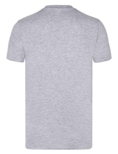 T-shirts Decote Redondo Ralph Lauren Homem Cinza Mesclado/Azul Navy