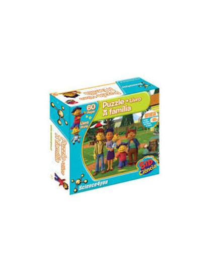 Kit Puzzle com Livro Sid e a Família