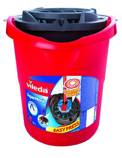 Balde C/ Espremedor Superfácil (Vermelho)