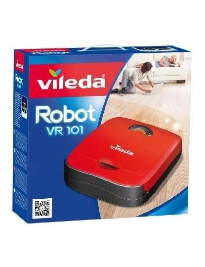 Robot Aspirador Vr101, Aspira Sozinho Pavimentos Duros