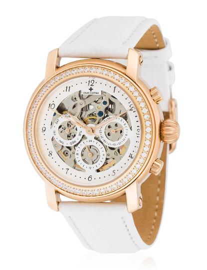 04d24451c2c Relógio Louis Cottier Senhora Branco Dourado