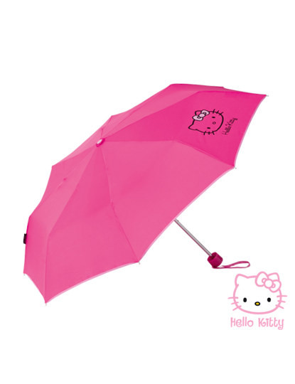Chapéu-de-chuva Hello-Kitty pequeno
