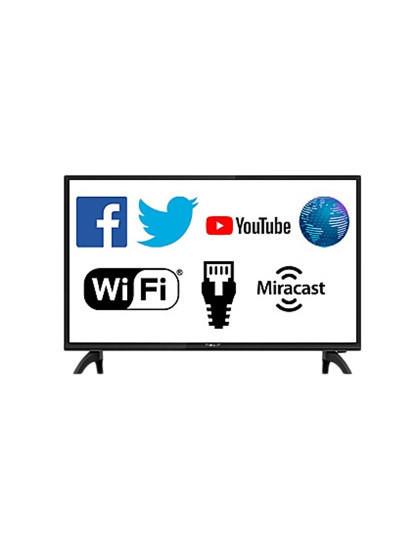 Televisão Nevir 32´´ Smart TV - YouTube,-Televisão Nevir 32´´ Smart TV - YouTube, Facebook