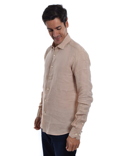Camisa Homem Sacoor Lisa Bege