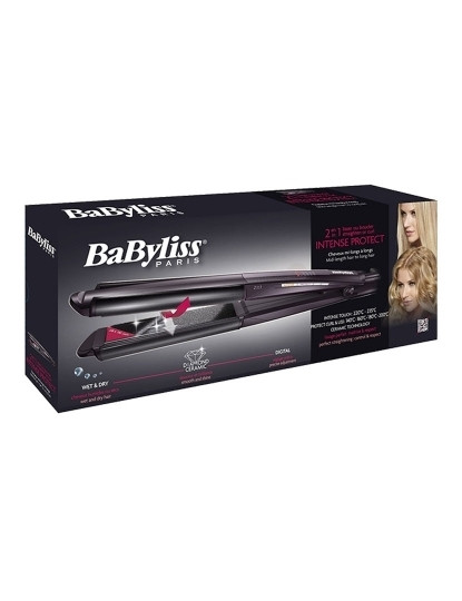 Alisador Diamond ICurl System Babyliss Wet & Dry