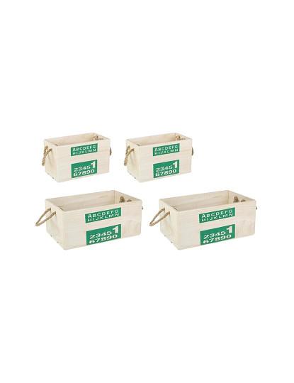 Set4 Caixas Aplha Verde