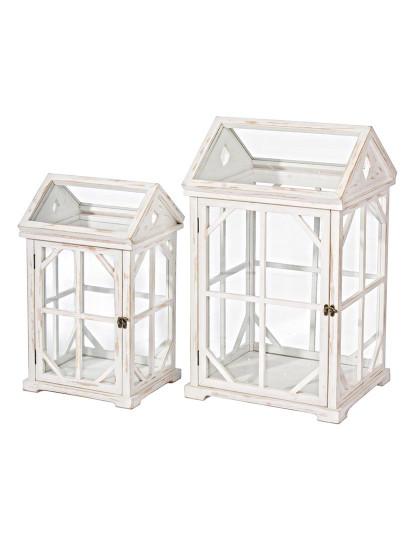 Set2 Porta-Velas Branco