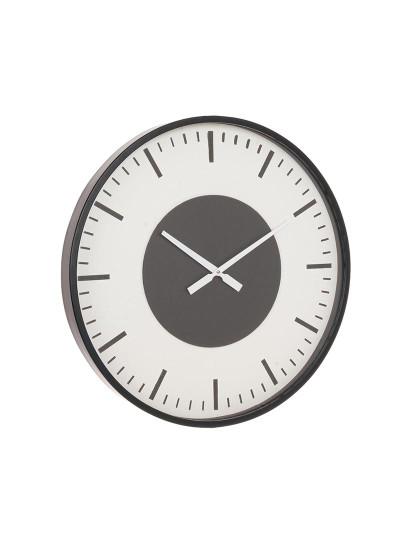 Relógio De Parede Ticking Preto
