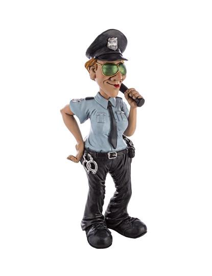 Estátua Caricatura Police
