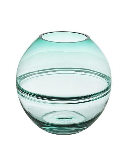 Vaso Illusion Redondo Azul H22
