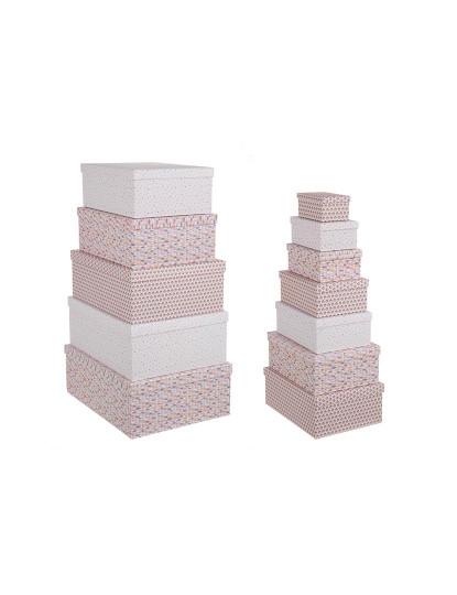 Set12 Caixas Triângulos Retangulares Rosa