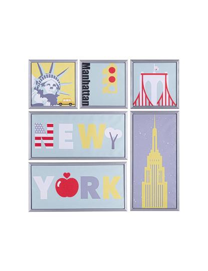 Quadro New York 6 Pcs