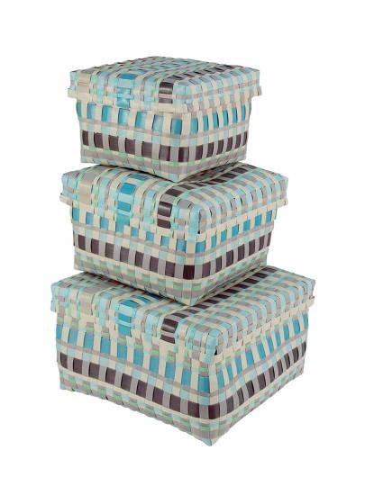 Set3 Caixas Melany Quadradas