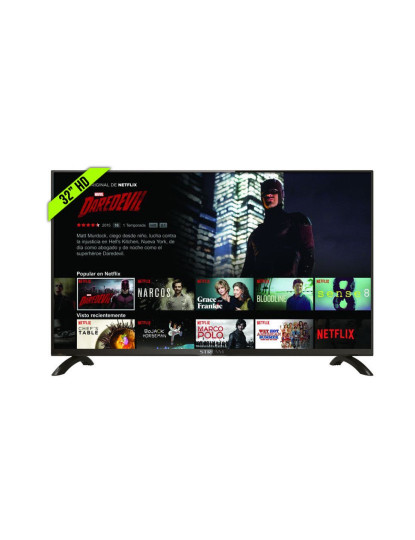 "Televisão HD Smart TV 32"" LED Android Netflix HBO"