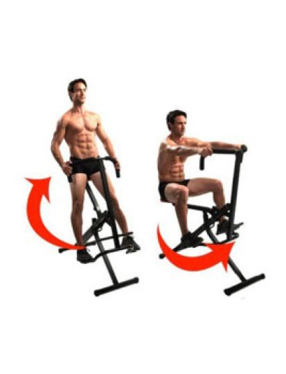 Trabalhe todo o seu corpo com Wonder Crunch Gym Portátil