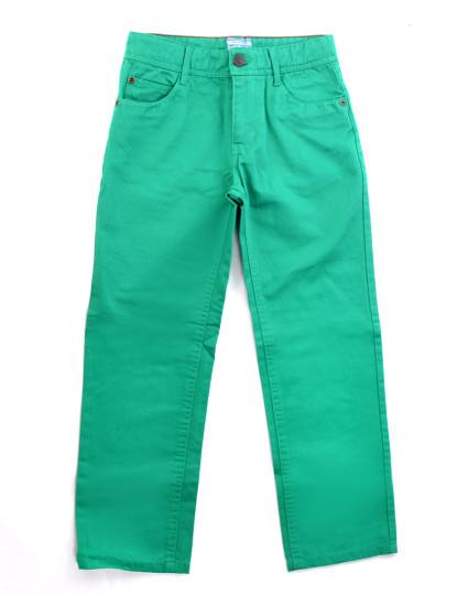 Calças 5 Bolsos Casual Throttleman Rapaz Verde