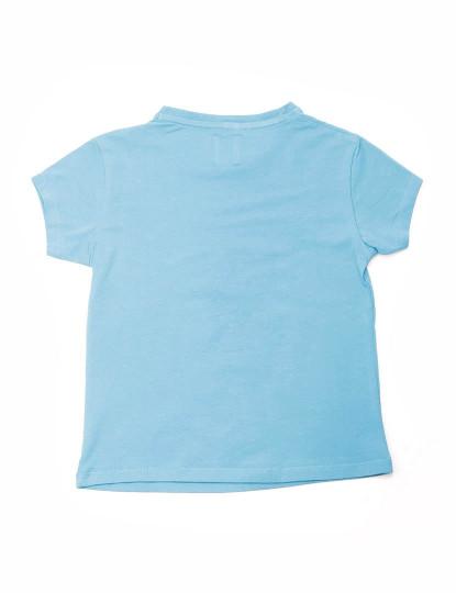 T-Shirt Regular Fit Oceanário Throttleman Rapariga Azul