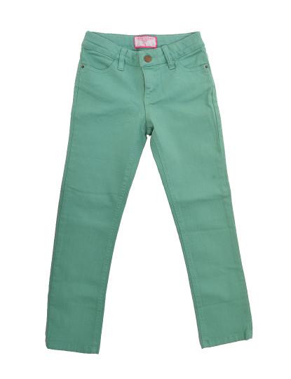 Calças 5 Bolsos Casual Throttleman Rapariga Verde