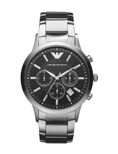 2c791a18799 Relógio Homem Emporio Armani Prateado e Preto IV