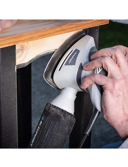 Lixadeira tipo Rato/Delta Blaupunkt 180W Eléctrica com oferta de 12 Discos de Lixamento!