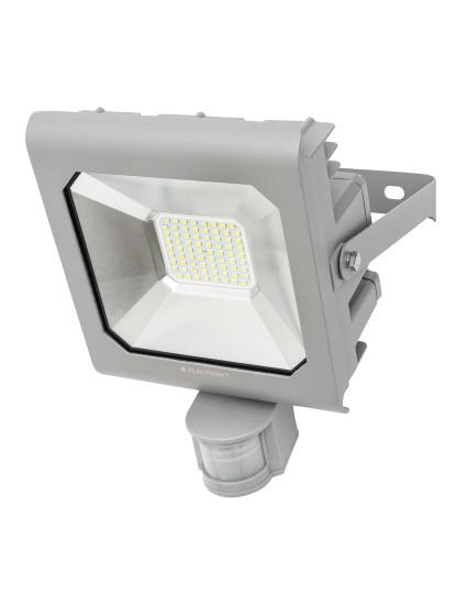 Projector Profissional c/ Sensor de Movimento Blindado Ultra Durável LED SMD Blaupunkt - 50w 6500k Cool White