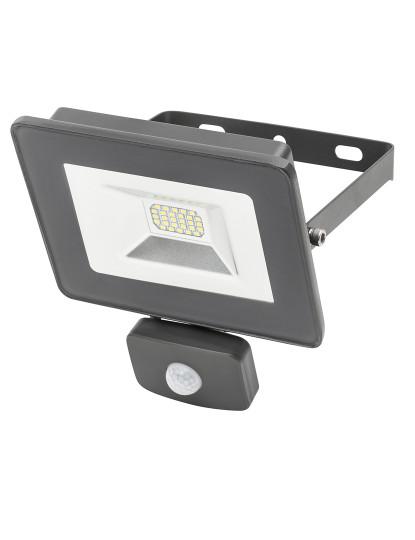 Projetor LED Outdoor c/ sensor de Movimento-série MAX 20w 6500k profissional Cool White - Impermeável Ultra-Resistente