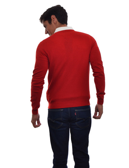 Casaco Malha Homem Sacoor Vermelho , até 2019 09 01