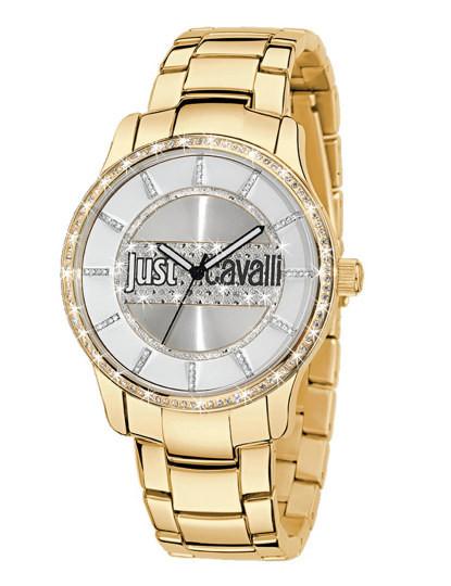 c7cac29c3ea Relógio Just Cavalli Huge Mid Dourado
