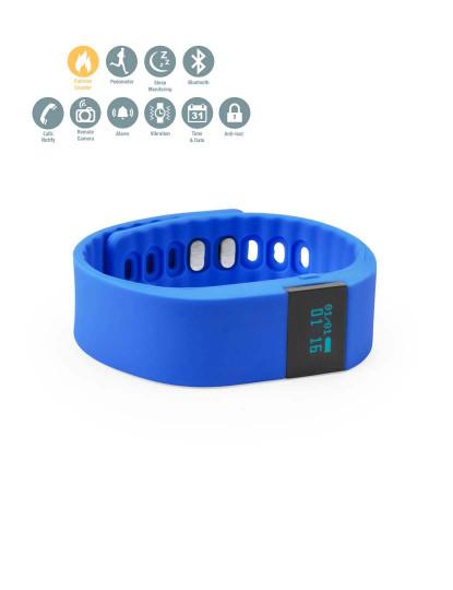 Smartband com bracelete em Silicone Azul