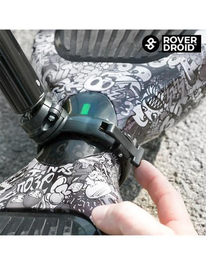 Guiador Para Hoverboard Rover Droid! Veja O Vídeo!
