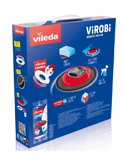 Mopa Robot Virobi Slim, Autónomo C/ Panos Descartáveis