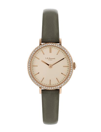 8fef925b4d8 Relógio Senhora L.K.Bennett Latte