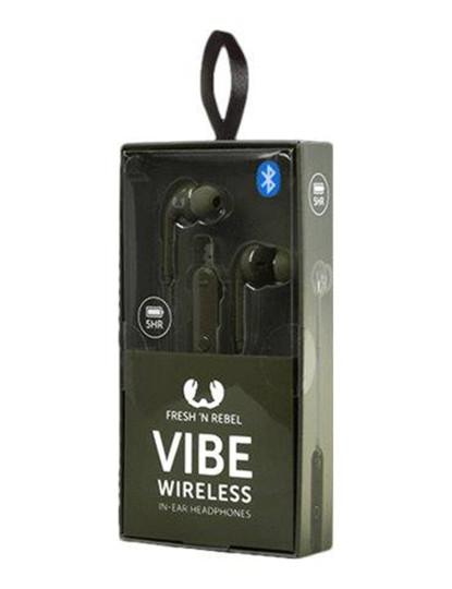 FNR Vibe Wireless in-ear headphones Army
