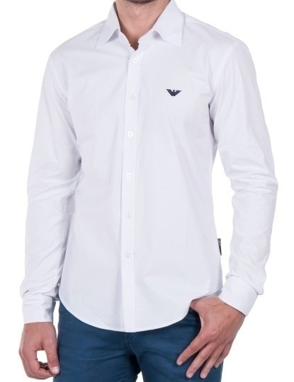 301786b685 Camisa Emporio Armani Branca