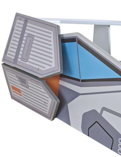 Cama Starship Cinza