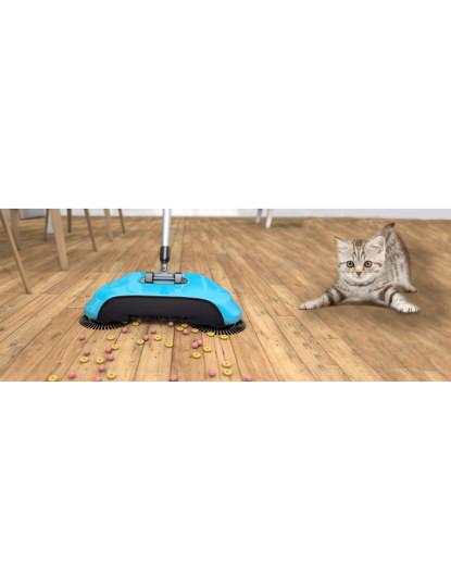 Vassoura Giratória Sweeper Spin & Clean Roller 3 em 1