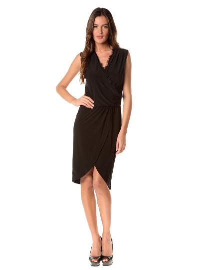 Vestido rendado clássico de Noir   Foto 14