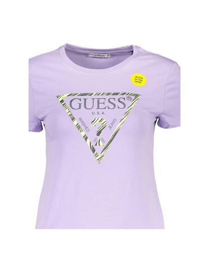 T-shirt M. Curta Guess Jeans Senhora Violeta