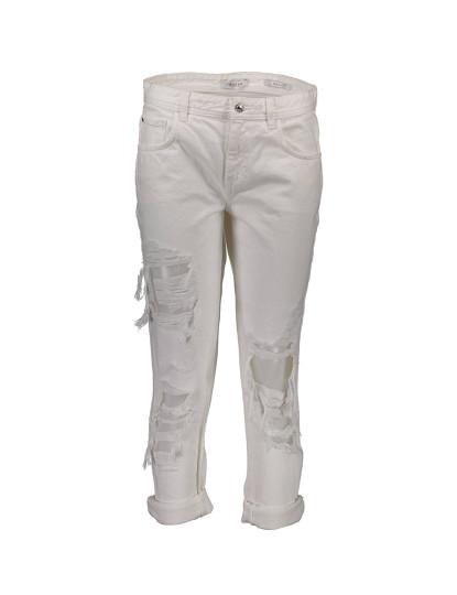 Calças de Ganga Guess Jeans Senhora Branco
