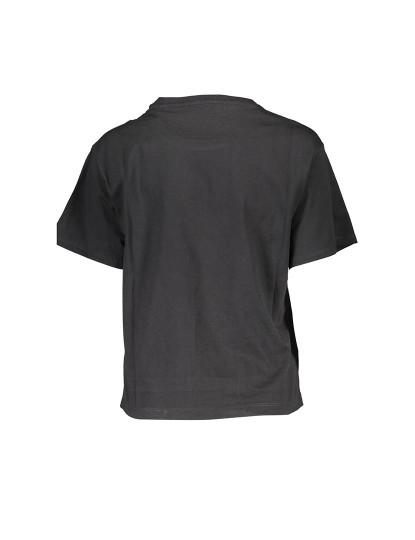 T-shirt M. Curta Guess Jeans Senhora Preto
