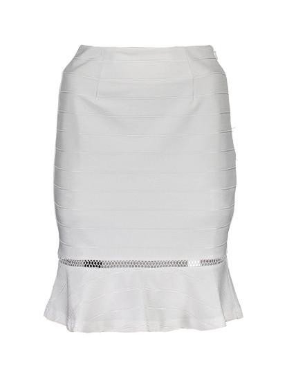 Saia Comprida Guess Jeans Senhora Branco