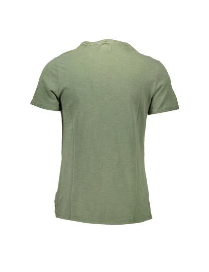 T-shirt M. Curta Guess Jeans Homem Verde