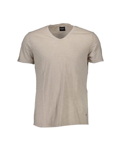 T-shirt M. Curta Guess Jeans Homem Bege