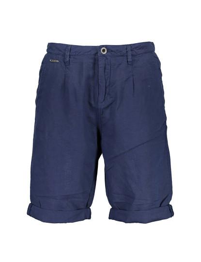 Calça Bermuda Guess Jeans Homem Azul