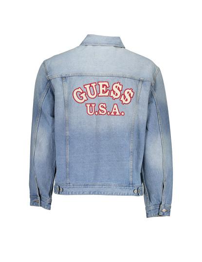 Casaco Desportivo Guess Jeans Homem Azul Claro