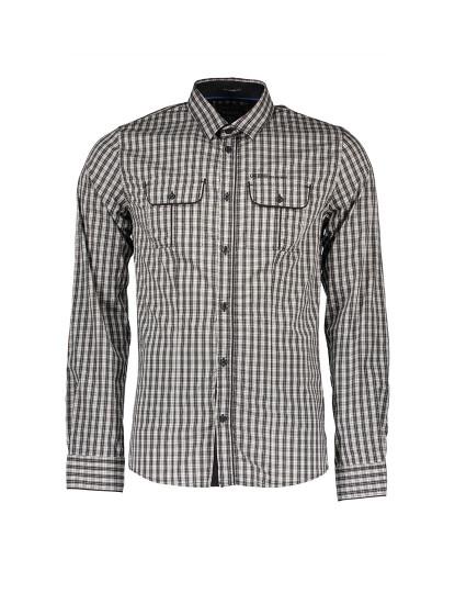 Camisa M. Comprida Guess Jeans Homem Castanho