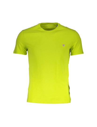 T-shirt M. Curta Guess Jeans Homem Amarelo