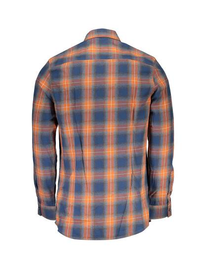 Camisa M. Comprida Guess Jeans Homem Laranja
