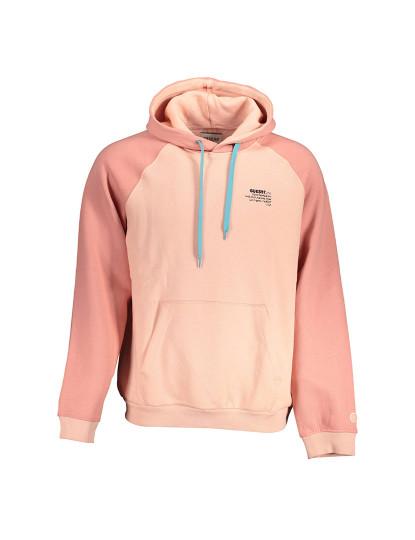 Sweatshirt Guess Jeans Homem Rosa