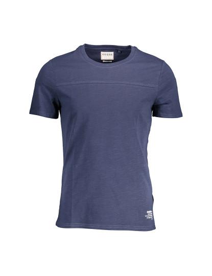 T-shirt M. Curta Guess Jeans Homem Azul